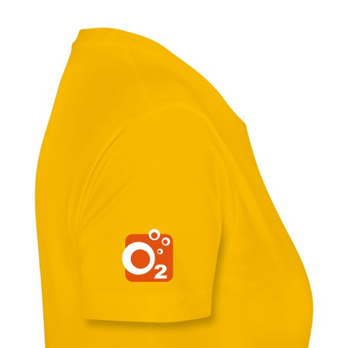o2 logo ohnetext orange - Frauen Premium T-Shirt