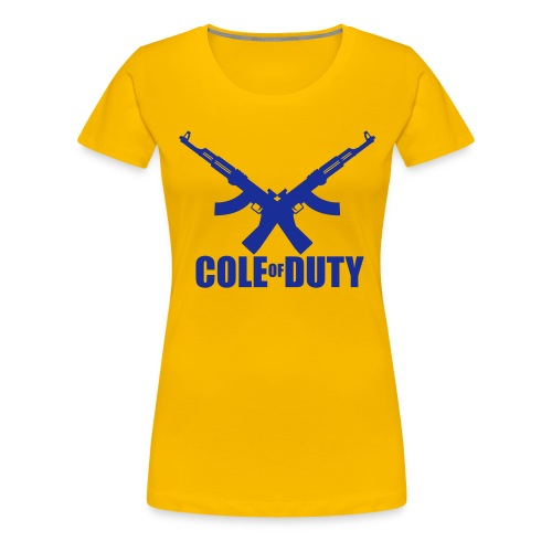 cole of duty vector - Women's Premium T-Shirt