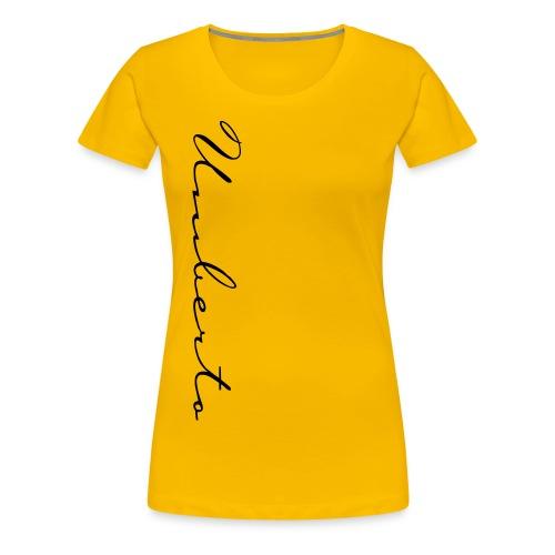 UM Hand - Frauen Premium T-Shirt