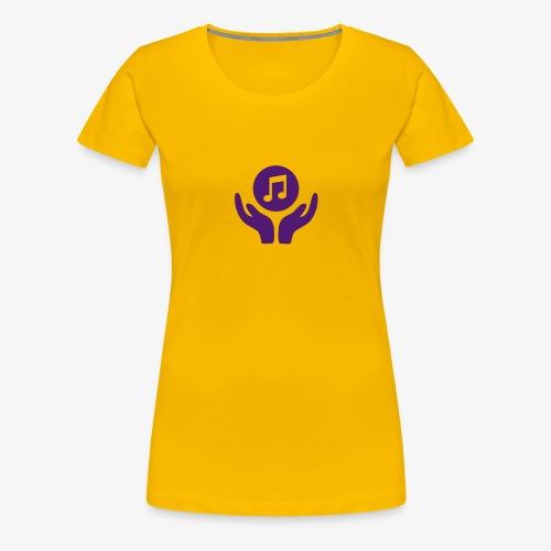MUSIK HILFT Bildmarke - Frauen Premium T-Shirt