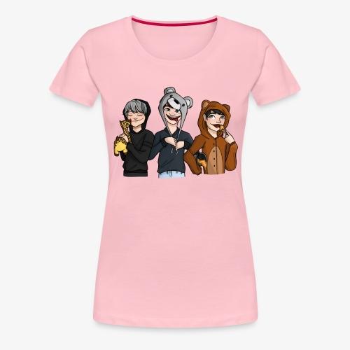 Team Potgrond - Vrouwen Premium T-shirt