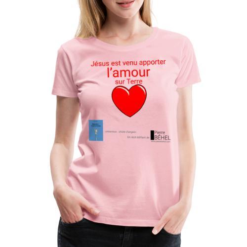 Motif chute d'anges femme - T-shirt Premium Femme