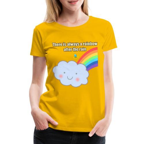 Bubbly! Rainbow - Maglietta Premium da donna