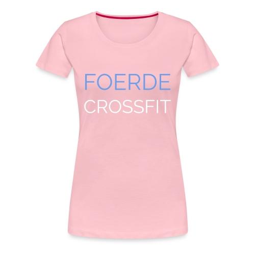 Foerde CrossFit - Frauen Premium T-Shirt