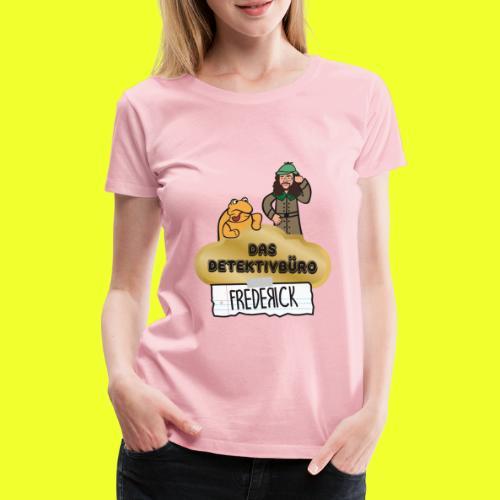 Das Detektivbüro Frederick - Frauen Premium T-Shirt
