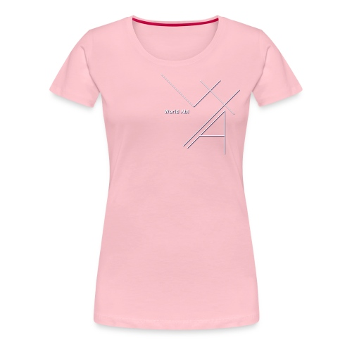 World Abl - T-shirt Premium Femme