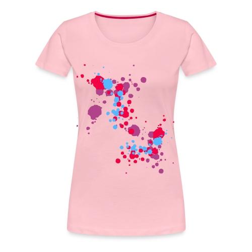 paint - Vrouwen Premium T-shirt