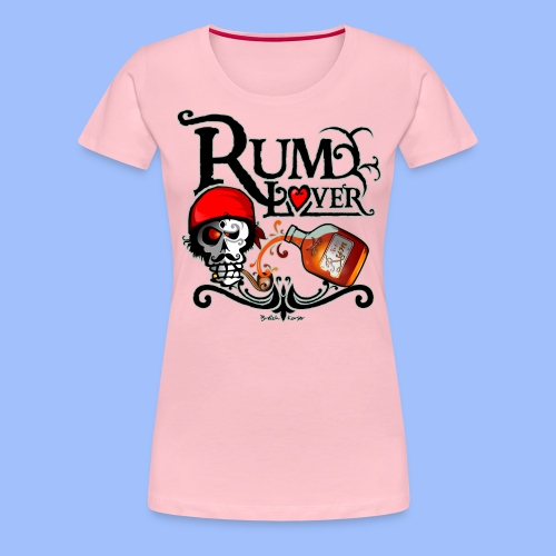 Rum lover - T-shirt Premium Femme