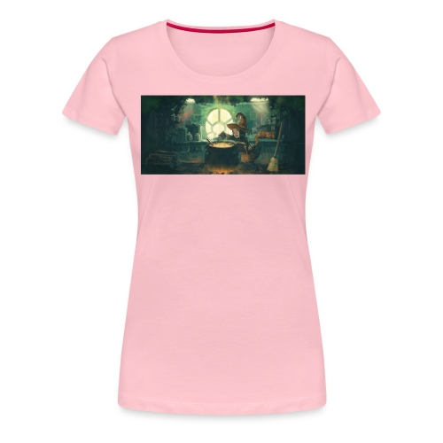 Pepper and Carrot Potion - Women's Premium T-Shirt