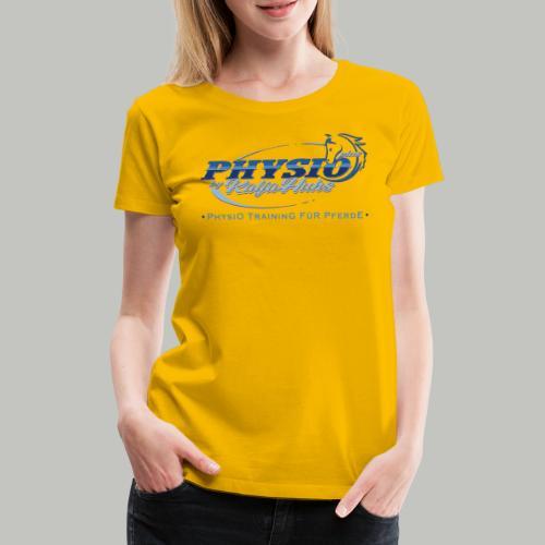 PHYSIO Shirt TEXT - Frauen Premium T-Shirt