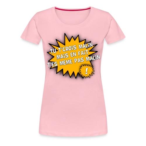 tshirt4 png - T-shirt Premium Femme