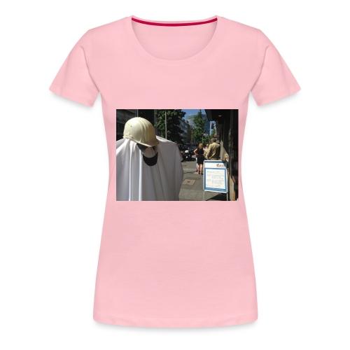 Unsichtbar png - Frauen Premium T-Shirt