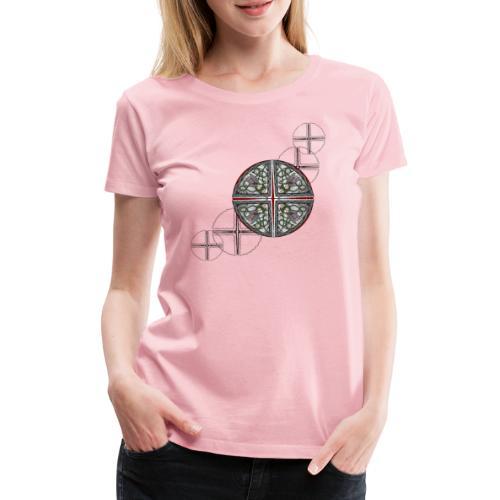 Archangel Michael Swash - Women's Premium T-Shirt