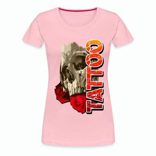SKULL TATTOO - Women's Premium T-Shirt