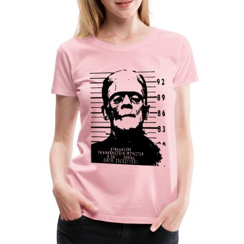 frankenstein arrested - Women's Premium T-Shirt
