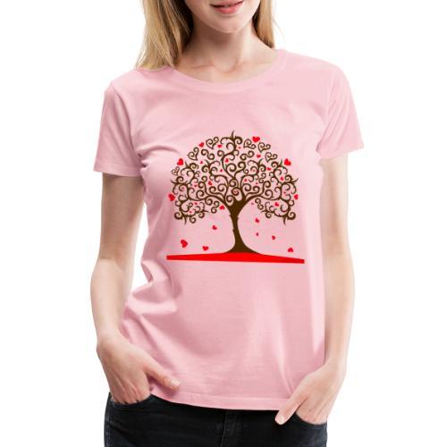 love ii - Frauen Premium T-Shirt