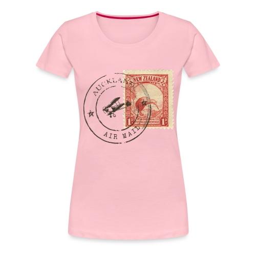 Kiwi stamp - Frauen Premium T-Shirt