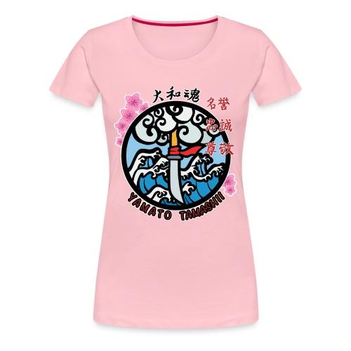yamato tamashii logo - Maglietta Premium da donna