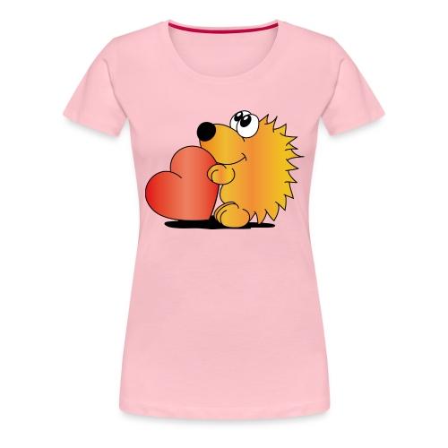 Igelchen - Frauen Premium T-Shirt