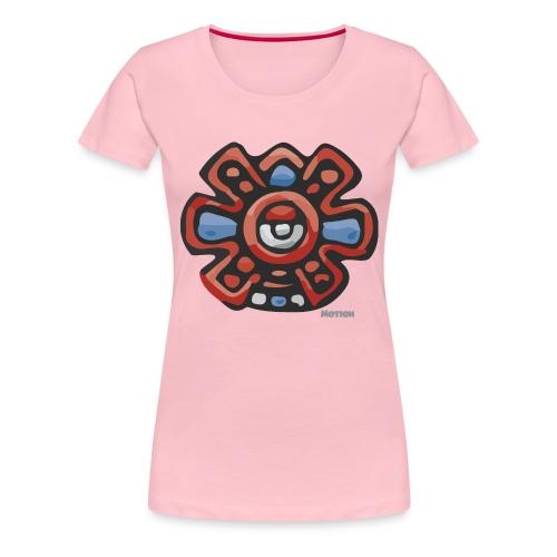 Aztec Motion Earth - Women's Premium T-Shirt