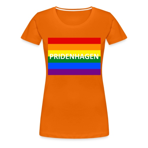 PRIDENHAGEN ØKO T-SHIRT - Dame premium T-shirt