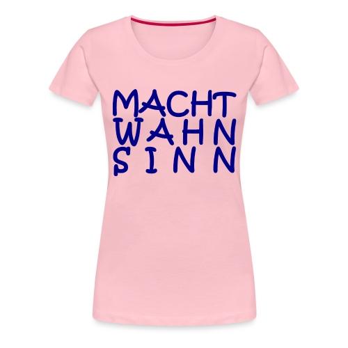WORTKunstwort 21.1 - Frauen Premium T-Shirt