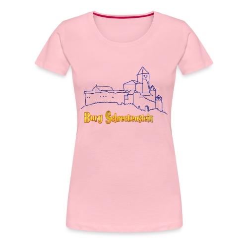 Kinder Kapuzenpullover - Burg Schreckenstein - Frauen Premium T-Shirt