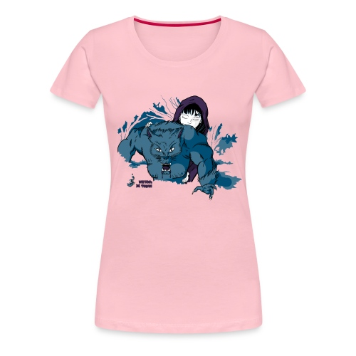 Rothäppchen fürShirt END png - Frauen Premium T-Shirt