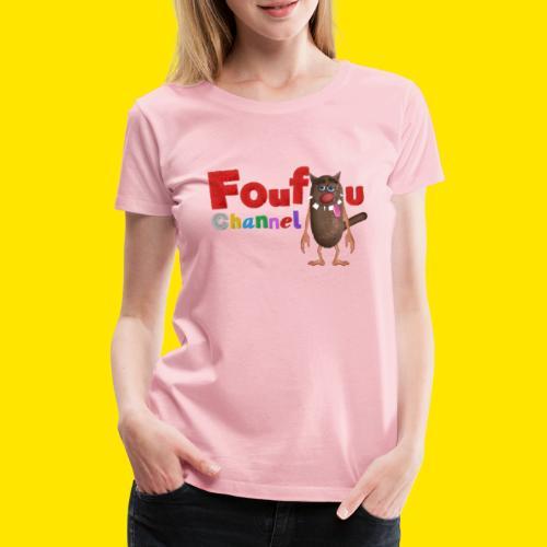 Foufou Logo Posing - Women's Premium T-Shirt