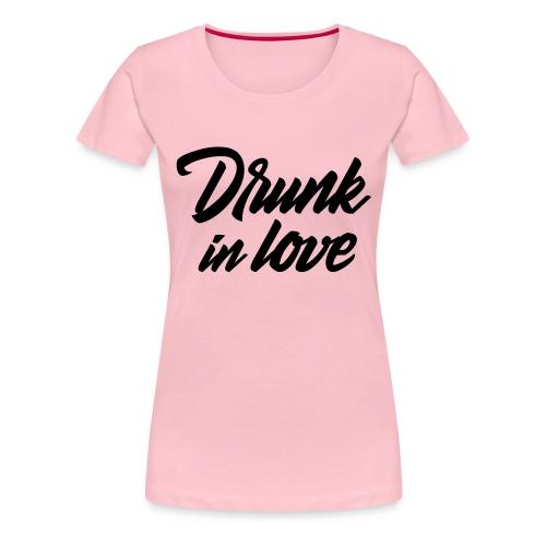 Bachelorparty - Drunk in love - Vrouwen Premium T-shirt