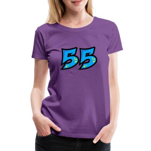 graf55blue - Naisten premium t-paita