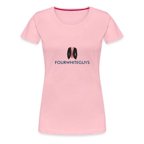 FOURWHITEGUYS flag ship - Women's Premium T-Shirt