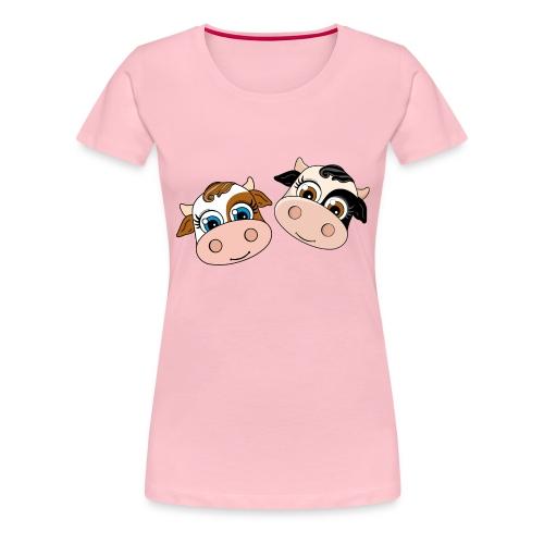 Dos Vaquitas - Camiseta premium mujer