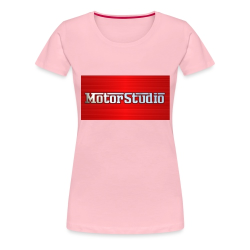 Motor Studio Design 1 - Women's Premium T-Shirt