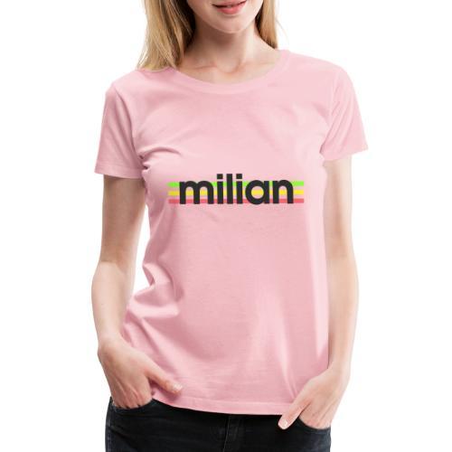 milian gruen gelb rot - Frauen Premium T-Shirt