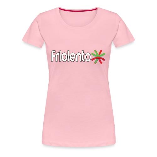 Friolento - Premium-T-shirt dam