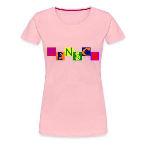 Mensch 21.1 - Frauen Premium T-Shirt