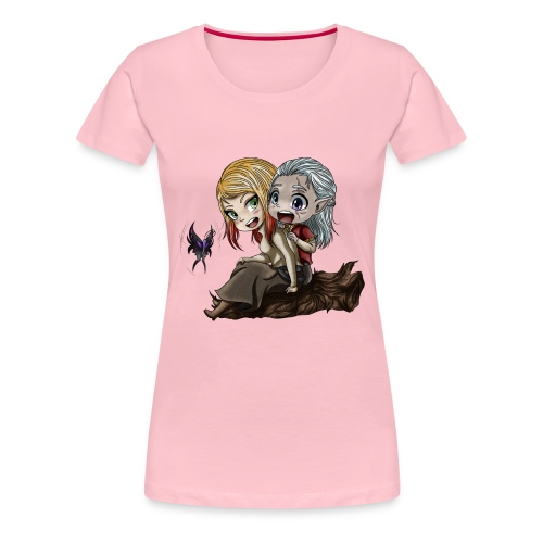 Amis d'Enfance - T-shirt Premium Femme