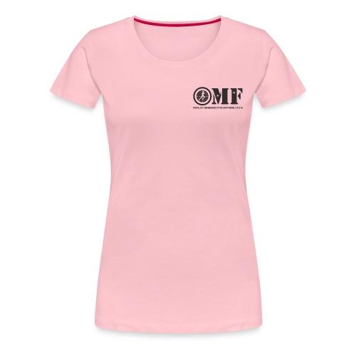 OMF black logo - Women's Premium T-Shirt