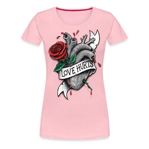 Love Hurts - Women's Premium T-Shirt