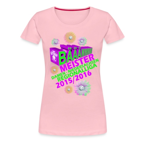 Siegershirt Regionalliga - Frauen Premium T-Shirt
