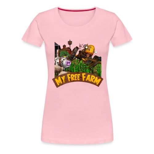 My Free Farm - Frauen Premium T-Shirt