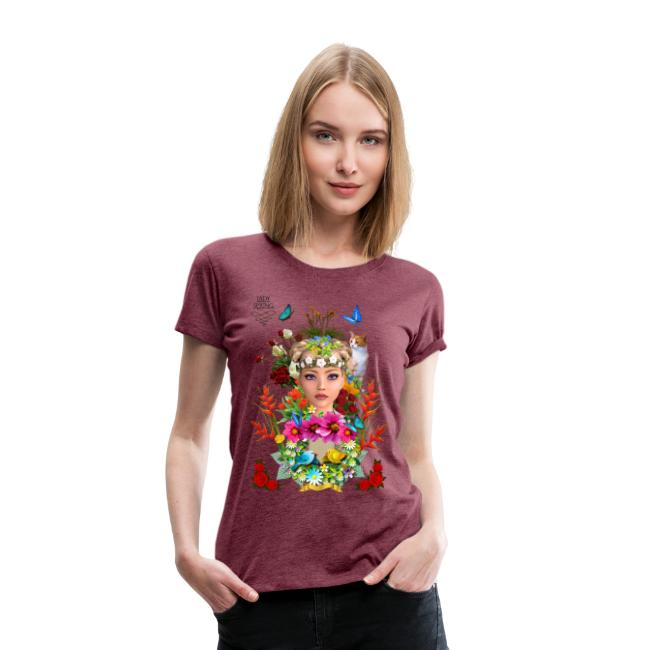 Lady spring -by- t-shirt chic et choc