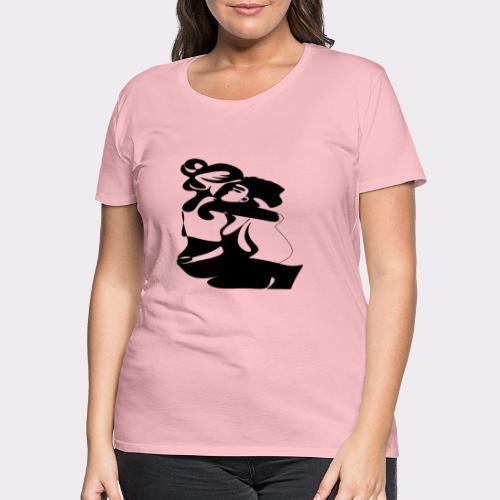 In Deinen Armen Liebespaar - Frauen Premium T-Shirt