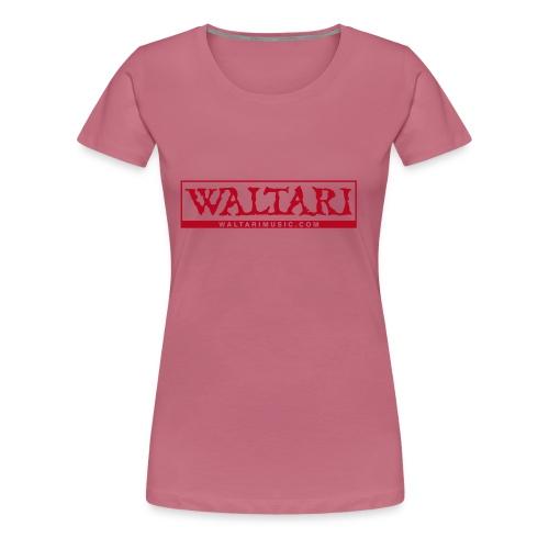 Waltari Logo - Women's Premium T-Shirt