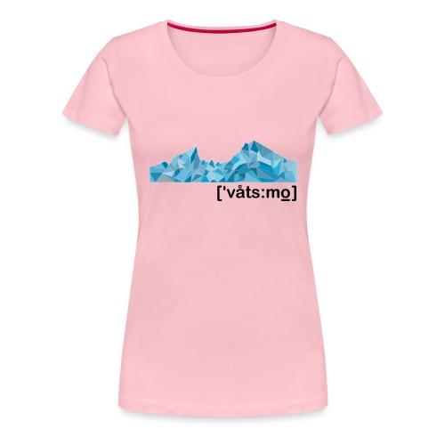 Watzmann 2020 /a - Frauen Premium T-Shirt