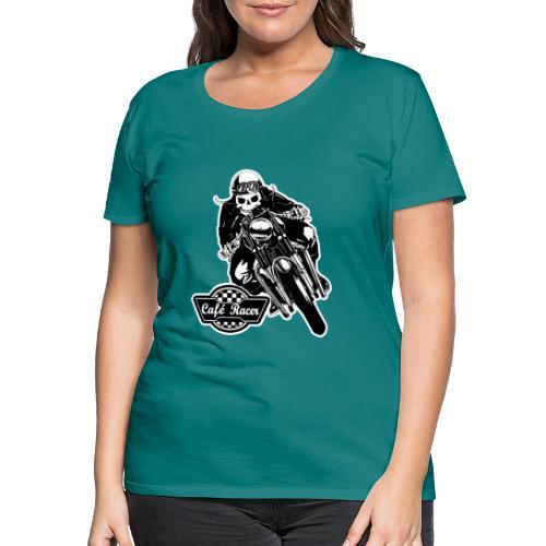 Café Racer - Camiseta premium mujer