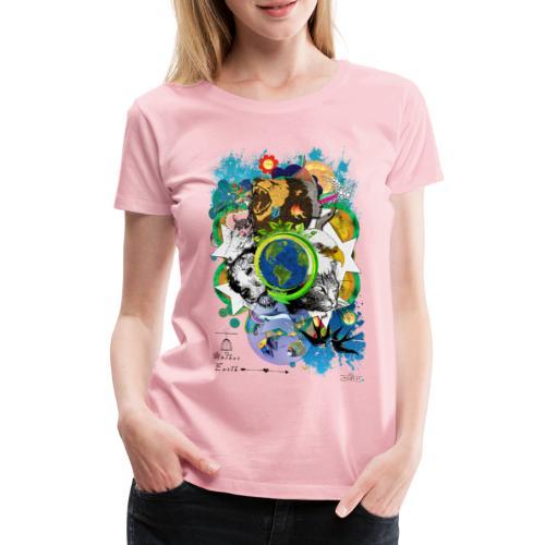 Mother Earth - black (us) -by T-shirt chic et choc - T-shirt Premium Femme