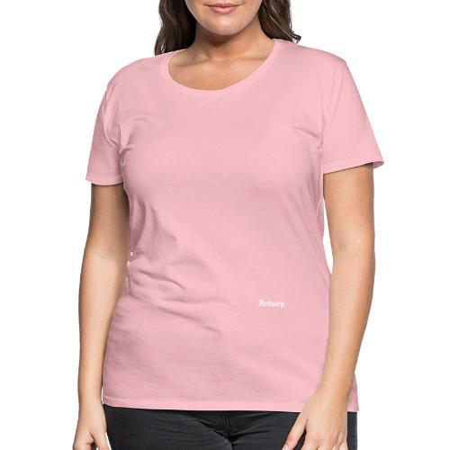 Artistry Branded White - Frauen Premium T-Shirt