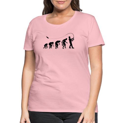 Evolution of fischers - Frauen Premium T-Shirt